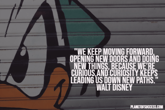 Moving forward quote by Walt Disney